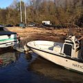 DYK? Park Rangers launch our boats at the 601 landing to patrol the boundary along the -congaree -river and access the -backcountry ? -wild50 -wilderness -rangers -lawenforcement.jpg