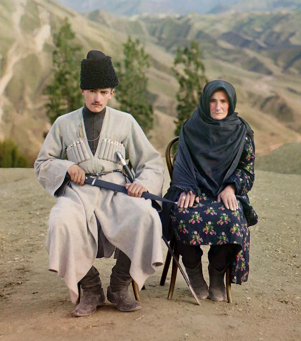 Dagestani man and woman