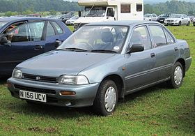 Daihatsu Charade 4-door notchback sedan registered November 1995 1499cc.JPG