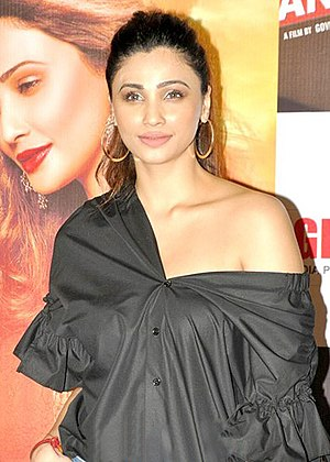 Daisy Shah - Shah at the launch of her new film Ramratan
