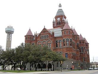 Dallas County, Texas - Image: Dallas Old Red Museum 01