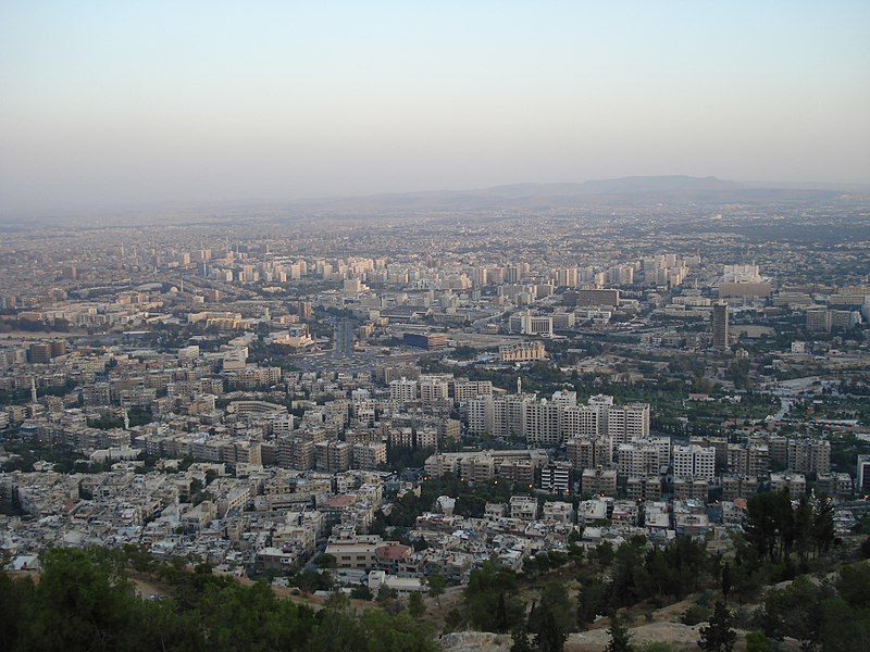 Датотека:Damascus from Qasiyon.JPG