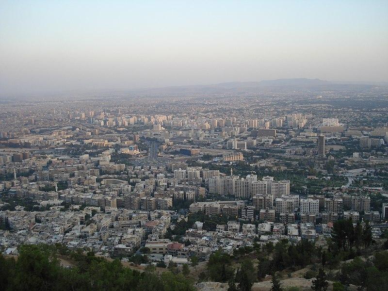 Archivo:Damascus from Qasiyon.JPG