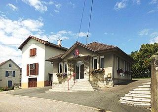 Dampierre-sur-le-Doubs Commune in Bourgogne-Franche-Comté, France