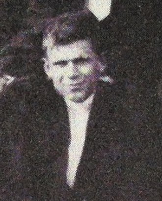 Dan Blake - Blake cropped from the 1906 team picture