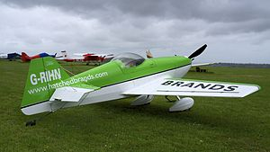 Dan Rihn DR.107 One Design G-RIHN at Compton Abbas (9047962359).jpg