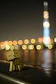 Danbo enjoy viewing Tokyo Sky Tree (7411059850).jpg