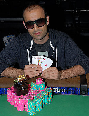 Daniel Alaei - Image: Daniel Alaei (WSOP 2009, Event 18)