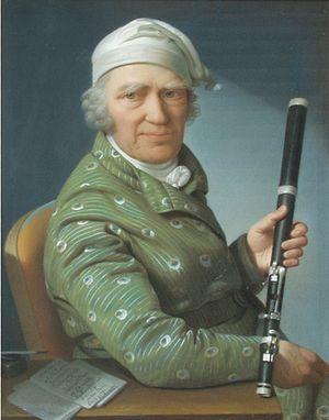 Johann George Tromlitz - Johann George Tromlitz by Daniel Caffé, 1803