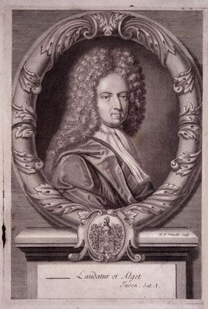 "English: ""Daniel Defoe,"" line engrav..."