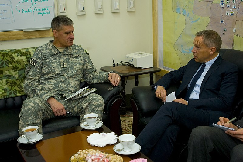 File:Danish Ambassador in Kabul meets with a US General.jpg