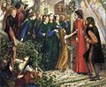 Dante Gabriel Rossetti - Beatrice Meeting Dante at a Marriage Feast, Denies Him Her Salutation.jpg