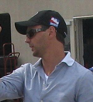 Darren Manning - Darren Manning at the Indianapolis Motor Speedway in 2009.