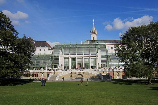 Das Palmenhaus im Burggarten, Wien - panoramio