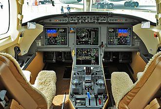 Dassault Falcon 7X - Falcon 7X Cockpit