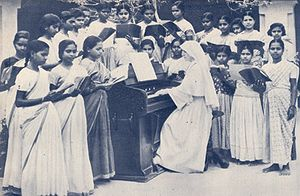 Salesian Sisters of Don Bosco - Image: Daughter of Mary Help of Christians Vellore music