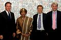 David Cameron, Ellen Johnson-Sirleaf, Bill Gates and Andrew Mitchell at the GAVI event.jpg