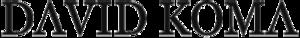 David Koma - Image: David Koma (logo)