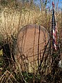 Davis Burial Ground with the tombstone of Simeon Van Nortwick II (1724-1813).jpg