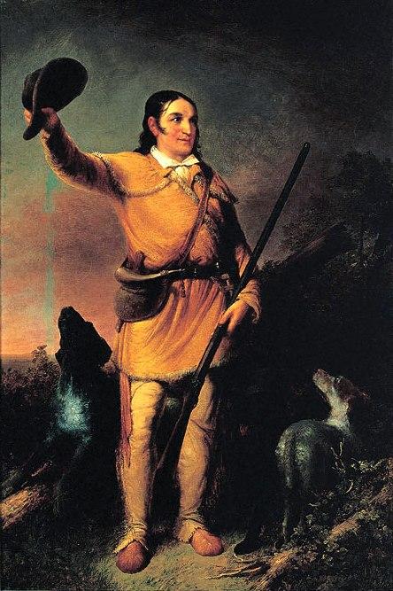 Davy Crockett by John Gadsby Chapman