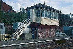 Dawlish railway station - The 1920 signal box