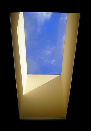 Daylighting - A skylight providing internal illumination