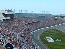 Daytona International Sdway The Track Where Race Was Held
