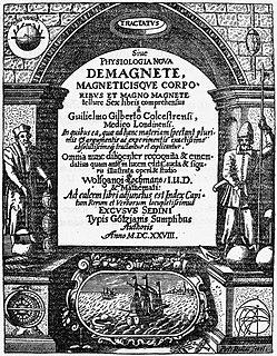 <i>De Magnete</i> book by William Gilbert