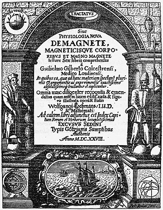 Library of Sir Thomas Browne - De Magnete Title page of 1628 edition