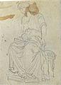 Dehodencq A. - Pencil - VERSO, Etude de personnage féminin, probablement'après l'antique - ~11x8cm.jpg