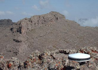 Ras Dashen - The summit area viewed from the west summit