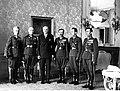 Delegacja 9 Pułku Artylerii Ciężkiej u prezydentai RP Ignacego Mościckiego NAC 1-A-1419.jpg