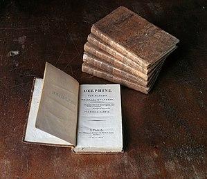 Germaine de Staël - Delphine, 1803 edition.