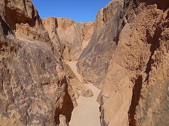 Beberibe Cliffs Natural Monument - Image: Dentro do Labirinto das Falésias Beberibe CE