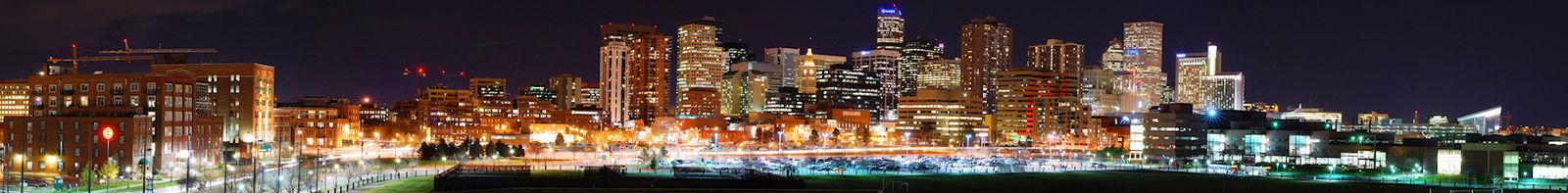 Denver Colorado Panorama