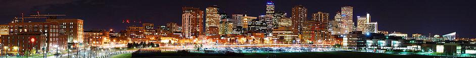 Il panorama di Downtown Denver, 2007