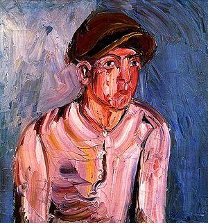 Aleksandr Drevin - Portrait of a Young Man, 1933