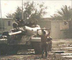 Destroyed tank 1991 uprising Iraq.jpg