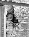 detail linkerzijde voorgevel onder dakgoot - delft - 20052390 - rce