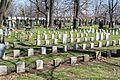 Detail soldiers lot Sec 72 - Woodland Cemetery.jpg