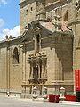 Detalle de la fachada de la Catedral de Ciudad Rodrigo.jpg