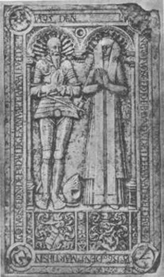 Ahlefeldt (noble family) - Image: Detlev von Ahlefeldt (1480 1572)