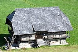 Deutsch Griffen Pfarrstadel Krippenmuseum 2062007 01.jpg