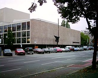 Fritz Bornemann - Deutsche Oper, Berlin (photo from 2004)