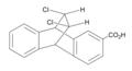 Dichloroethano-bridged anthroic acid (anti).png