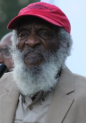 Dick Gregory - Gregory in 2015