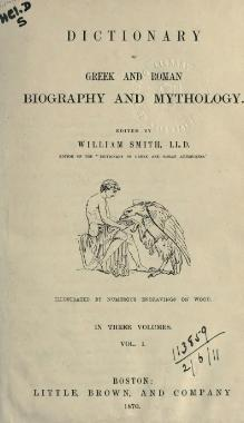 Dictionary of Greek and Roman Biography and Mythology (1870) - Volume 1.djvu