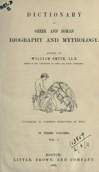 File:Dictionary of Greek and Roman Biography and Mythology (1870) - Volume 1.djvu