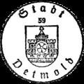 Dienstsiegel der Stadt Detmold laut Hauptsatzung.png