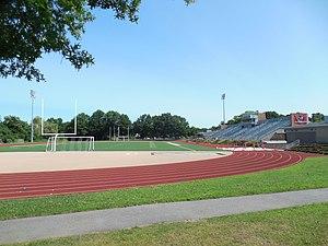 Dilboy Stadium - Image: Dilboy Stadium, Somerville MA
